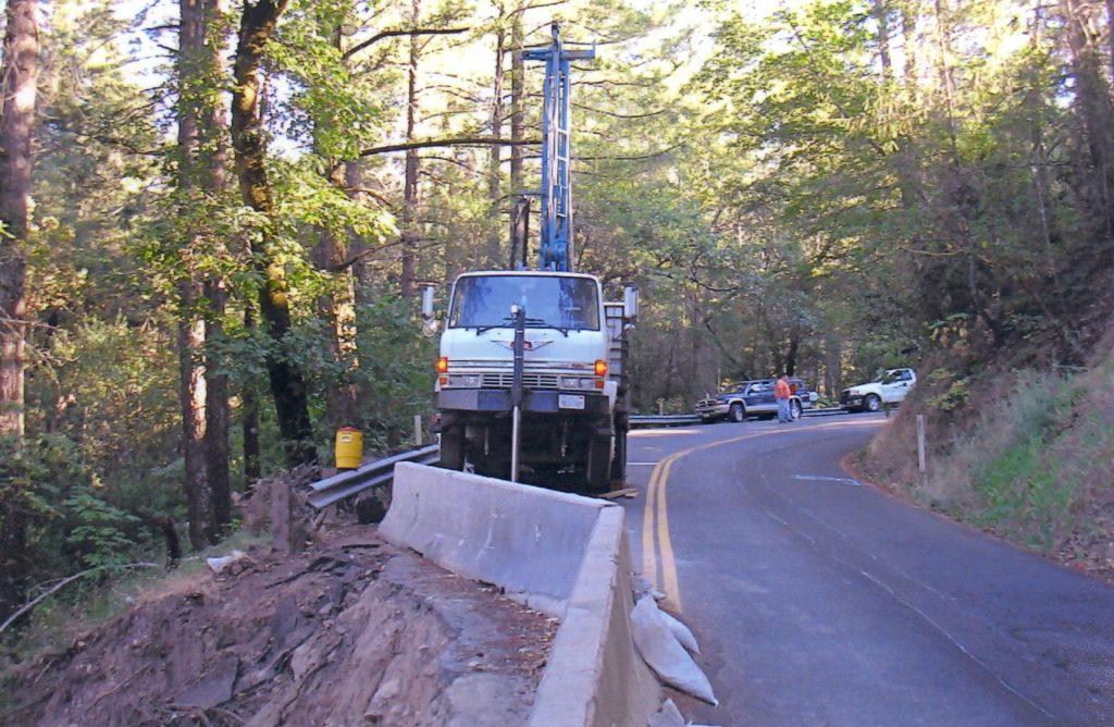 DR5K- landslide investigation